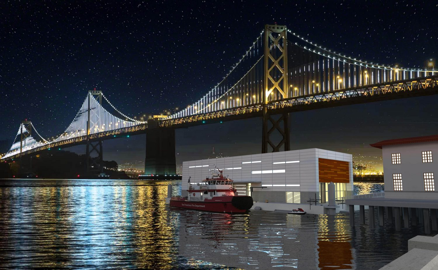 San Francisco Fireboat Station 35