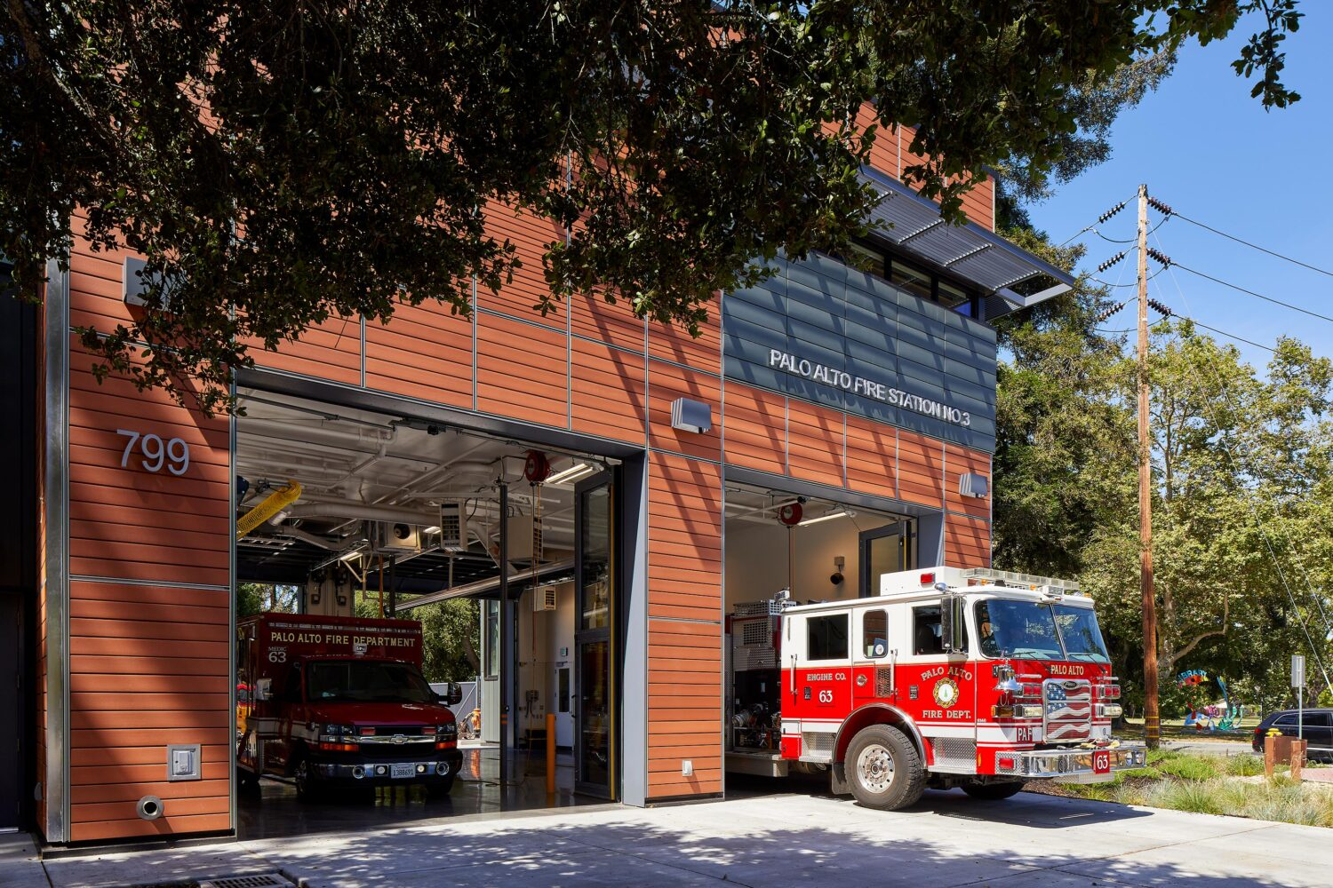 Palo Alto Fire Station No. 3